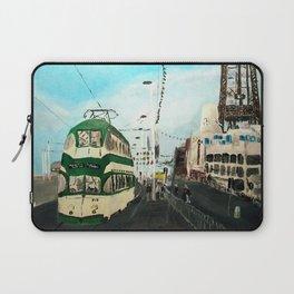 Blackpool Lancashire England Acrylic Fine Art Laptop Sleeve