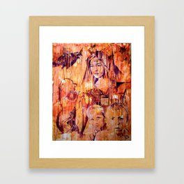 Telse and Magdalena or the question: how free is a Dithmarscher? Framed Art Print