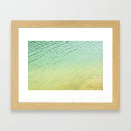 Shades of water Framed Art Print