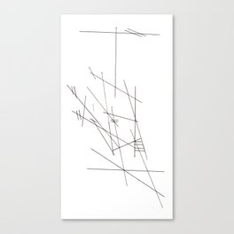 Plan Canvas Print