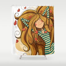 Amorousness Shower Curtain