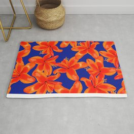 Lilium Lily in the Sun Rug