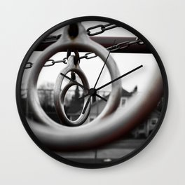 Back in the Day Wall Clock