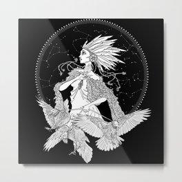The Raveness Metal Print