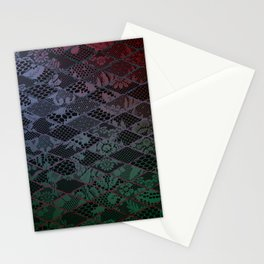 dark lace Stationery Cards