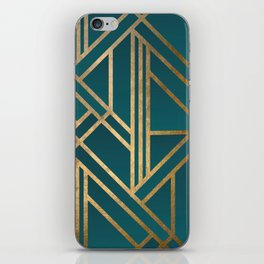 Art Deco Graphic No. 213 iPhone Skin