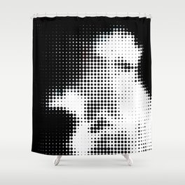 The Lurker Shower Curtain