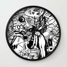 Abstinence Educated Wall Clock