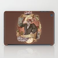 gravity falls iPad Cases featuring Gravity Falls - Stan the Man by animatenowsleeplater