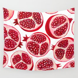 Pomegranate pattern Wall Tapestry