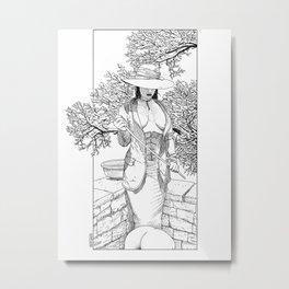 asc 271 - Les collines pâles (The winterscape) Metal Print
