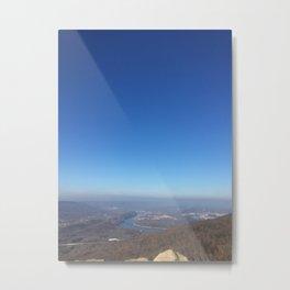 mountain overlook Metal Print