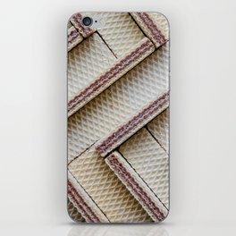 Hazelnut Wafers iPhone Skin