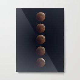 Bloody Moon Eclipse Metal Print
