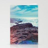 salt water Stationery Cards featuring Salt Water by Viviana Gonzalez