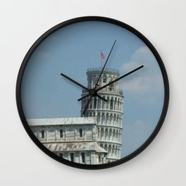 Leaning Tower of Pisa Wall Clock