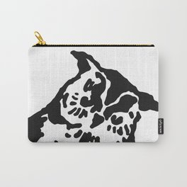 So Wise Black Owl Carry-All Pouch