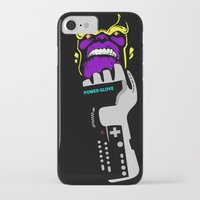 thanos iPhone & iPod Cases featuring Power Gauntlet by Sauce Designs