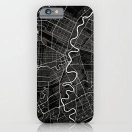 Winnipeg - Minimalist City Map iPhone Case