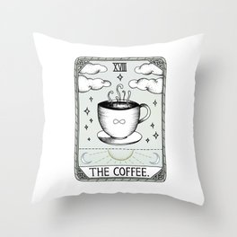 The Coffee Throw Pillow