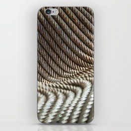 Coiled Lines iPhone Skin