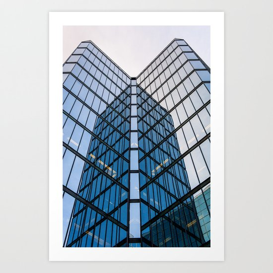 Downtown Ottawa Art Print