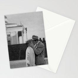 Collage Á bout de souffle (Breathless) - Jean-Luc Godard Stationery Cards