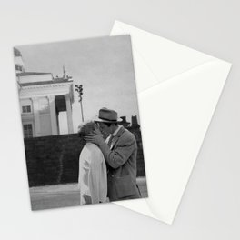 Collage Á bout de souffle (Breathless) - Jean-Luc Godard Stationery Cards