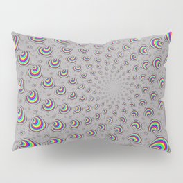 Psychedelic Swirl Pillow Sham