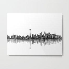 Toronto V2 Metal Print