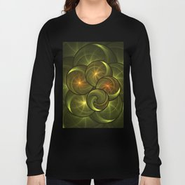 Fractal Positive Energy Long Sleeve T-shirt