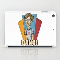 napoleon iPad Cases featuring Napoleon Dynamite by Michael Duhamel