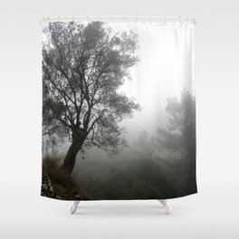 Olive Hill Shower Curtain