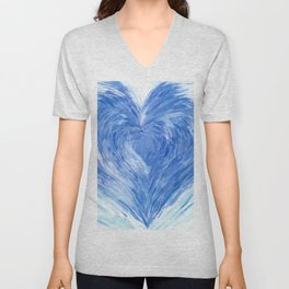 Cold heart Unisex V-Neck