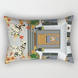 Autumn leaf game Rectangular Pillow