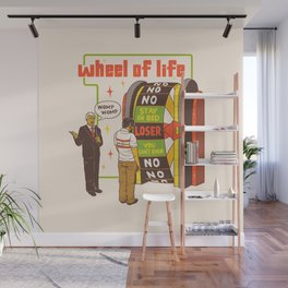 Wheel Of Life Wall Mural