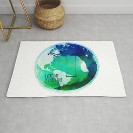 Every Day Is Earth Day - 03 Watercolor Rug