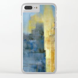 """City Lights"" by Diana Grigoryeva Clear iPhone Case"