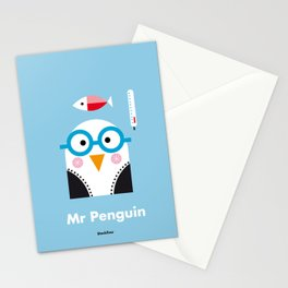 Mr. Penguin Stationery Cards