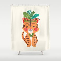 Thomas the Tiger Shower Curtain