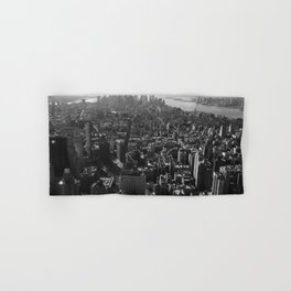 Manhattan Skyline, NY, fine art print, new york city, high quality photo Hand & Bath Towel