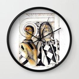 Harlequins Wall Clock