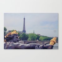 infamous Canvas Prints featuring The infamous shot  by Serna