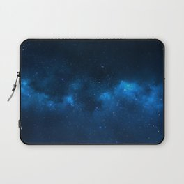 Fascinating view of the blue cosmic sky Laptop Sleeve