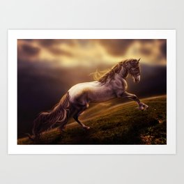 Cavallo Art Print