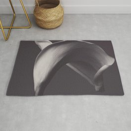 Calla lily photo, fine art, flowers photography, flower still life, wall decor, Robert Mapplethorpe Rug