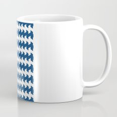 jaggered and staggered in monaco blue Mug