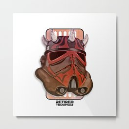 Stormtrooper Darth Maul Metal Print