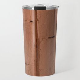 Red brick wall Travel Mug