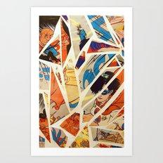 Superwoman Art Print